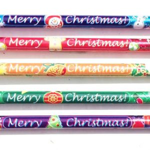 Merry Christmas Glitz Pencils