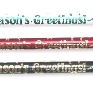 Seasons Greetings Pencils