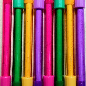 glitter erasers