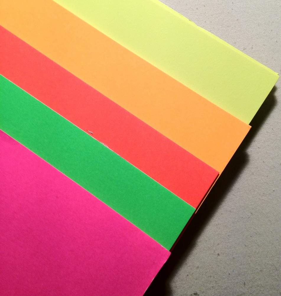 Neon Poster Board Paper | The Pencil Superstore